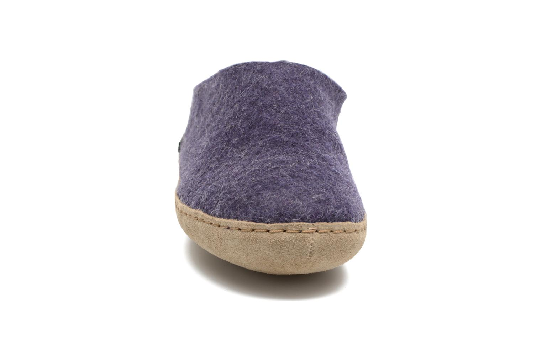 Slippers Glerups Piras W Purple model view