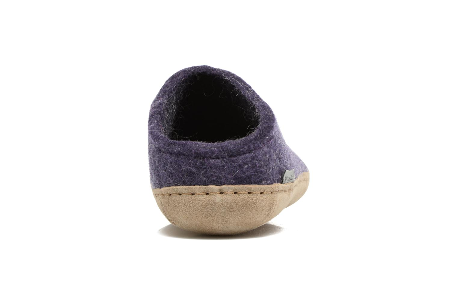Slippers Glerups Piras W Purple view from the right