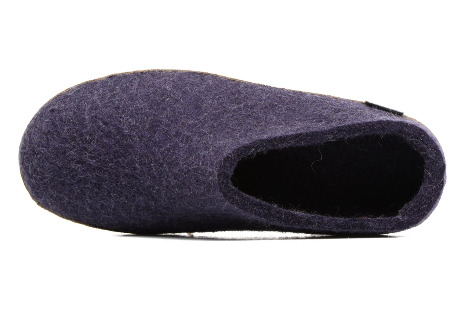 Slippers Glerups Piras W Purple view from the left