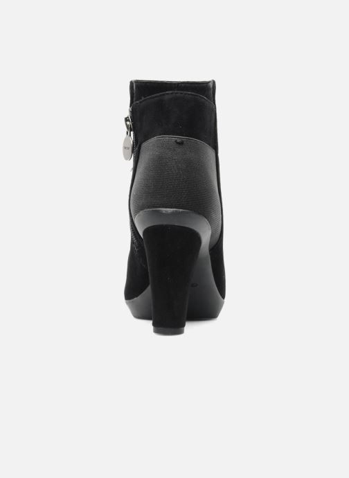 Bottines et boots Geox D INSPIRAT.ST. D34G9A Noir vue droite