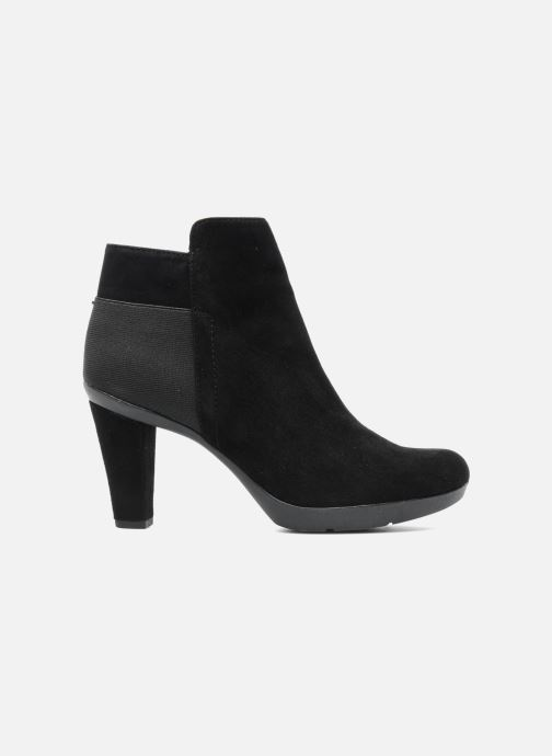 Ankle boots Geox D INSPIRAT.ST. D34G9A Black back view