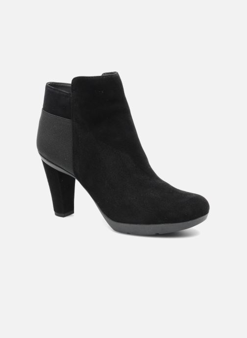 Ankle boots Geox D INSPIRAT.ST. D34G9A Black detailed view/ Pair view