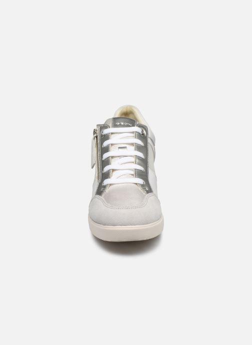 Bottines et boots Geox D STARDUST Blanc vue portées chaussures