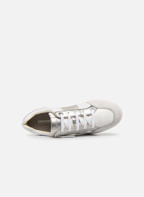 Bottines et boots Geox D STARDUST Blanc vue gauche