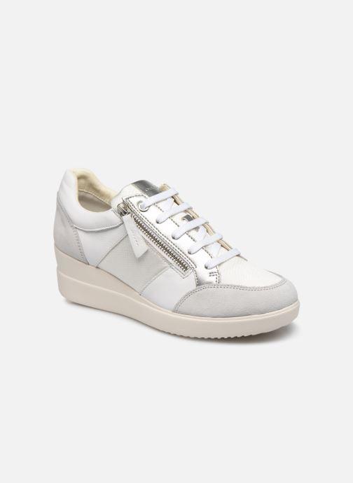 Bottines et boots Geox D STARDUST Blanc vue détail/paire