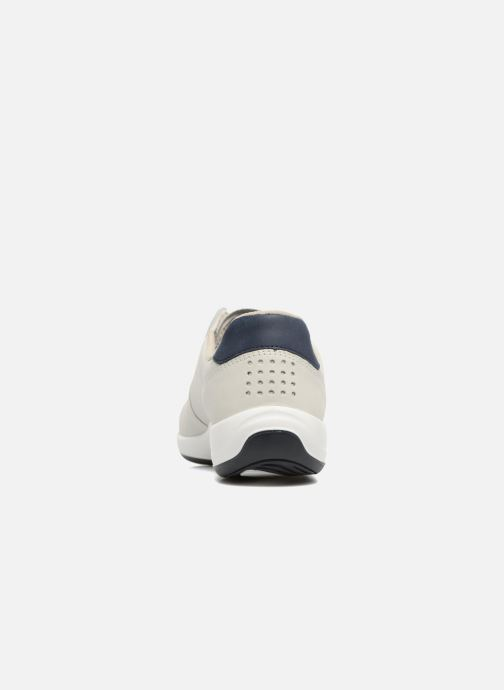 Baskets TBS Easy Walk Anyway Blanc vue droite