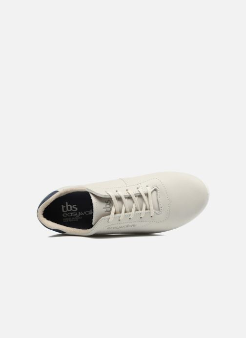 Sneakers TBS Easy Walk Anyway Bianco immagine sinistra