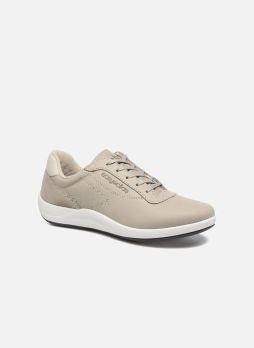 Baskets TBS Easy Walk Anyway Blanc vue détail/paire