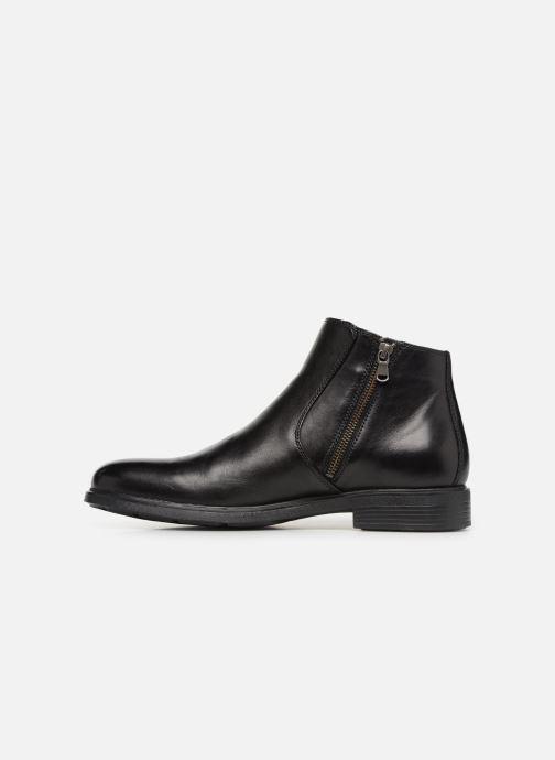 Stiefeletten & Boots Geox U DUBLIN D U34R2D schwarz ansicht von vorne