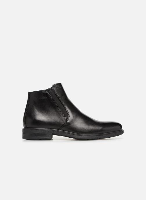Ankle boots Geox U DUBLIN D U34R2D Black back view