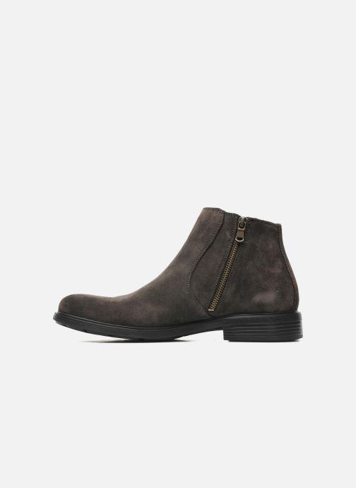 Ankle boots Geox U DUBLIN D U34R2D Grey front view