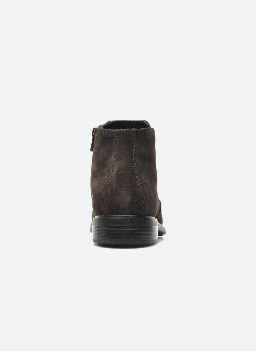 Boots en enkellaarsjes Geox U DUBLIN D U34R2D Grijs rechts