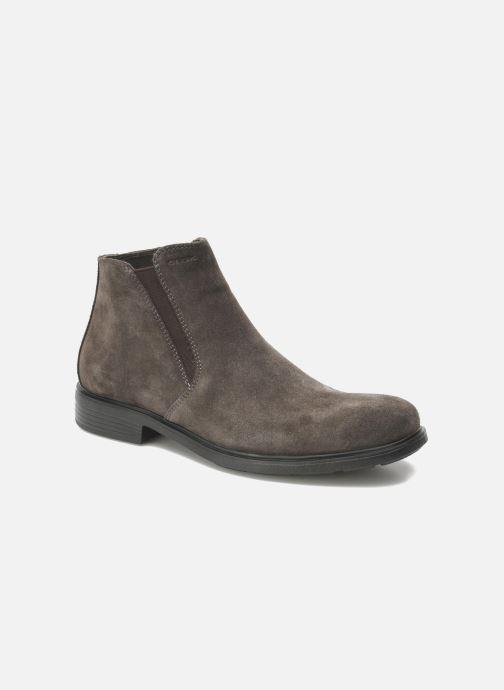 Ankle boots Geox U DUBLIN D U34R2D Grey detailed view/ Pair view