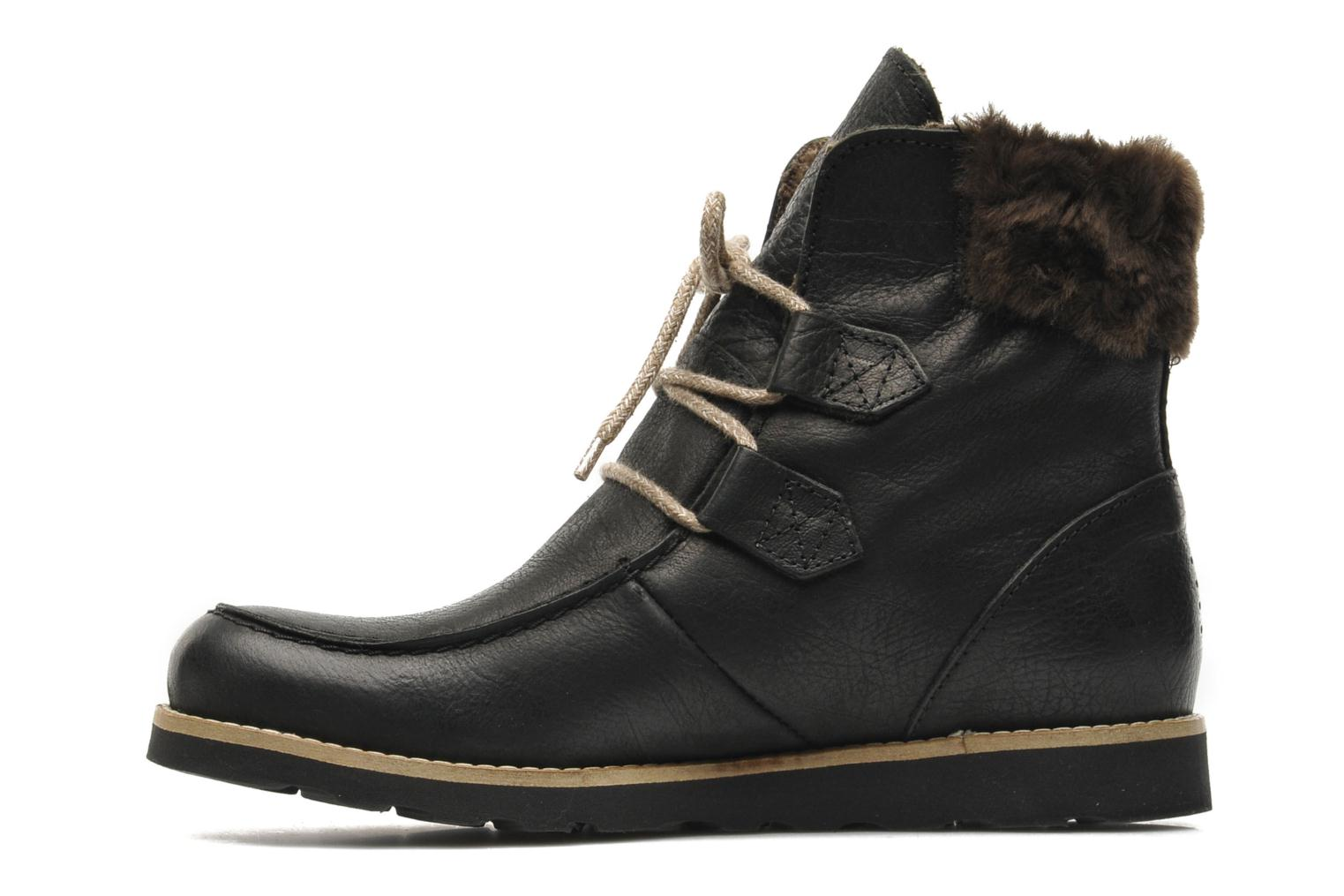 Ankle boots TBS Ariana Black front view