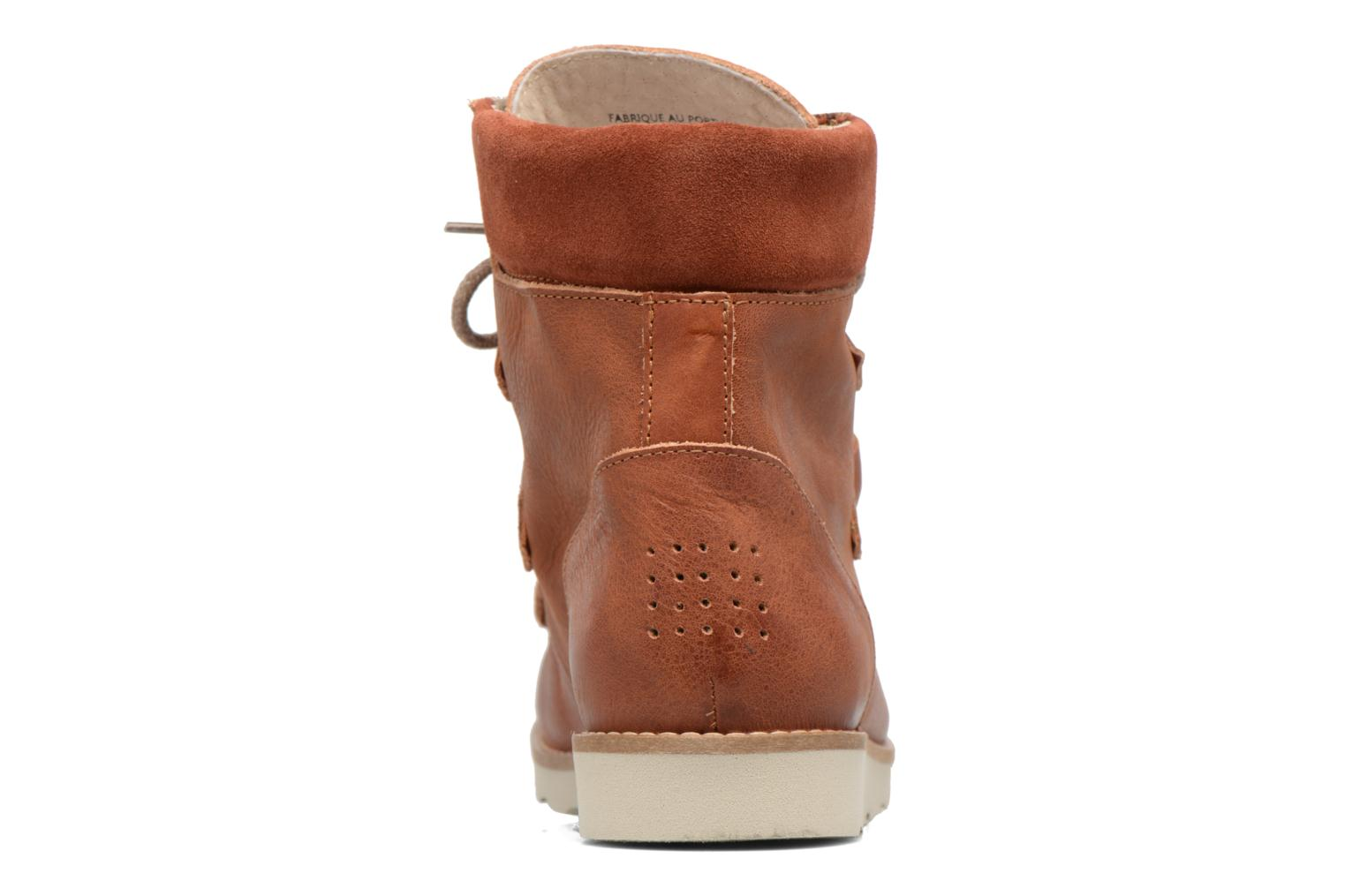Ankle boots TBS Ariana Brown view from the right
