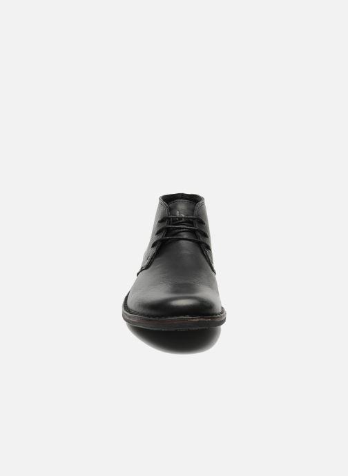 Chaussures à lacets TBS Kerlea Noir vue portées chaussures