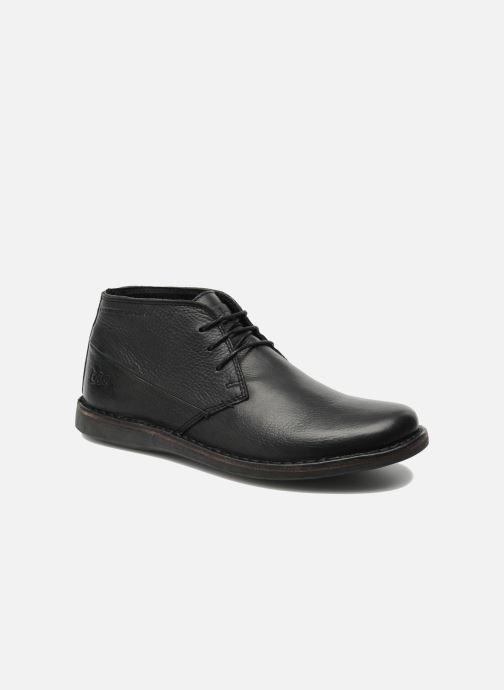 Chaussures à lacets TBS Kerlea Noir vue détail/paire