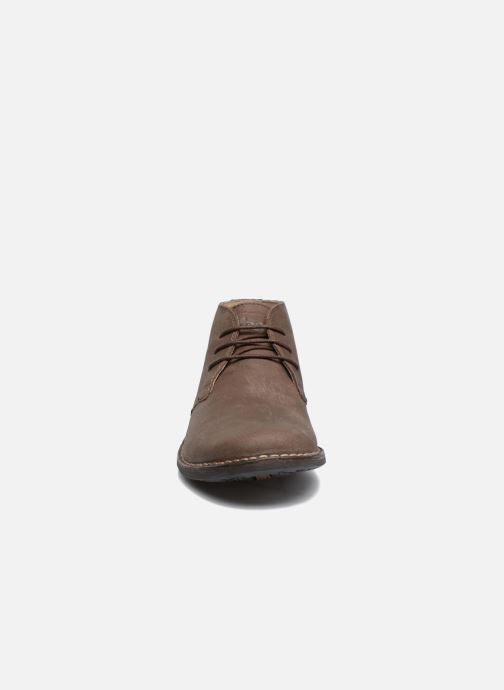 Chaussures à lacets TBS Kerlea Marron vue portées chaussures