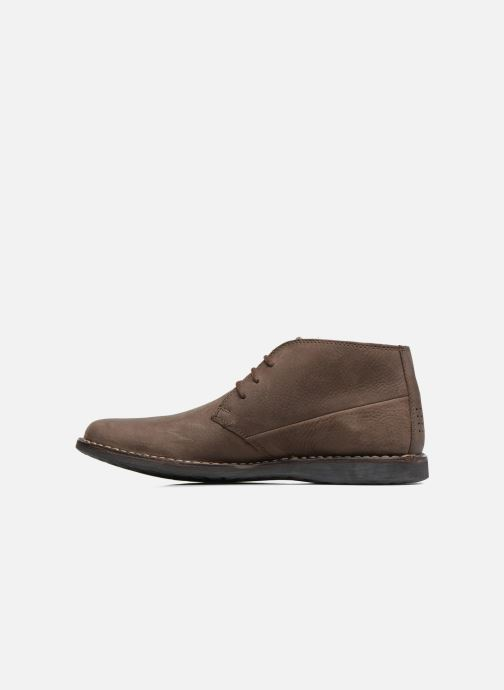 Chaussures à lacets TBS Kerlea Marron vue face