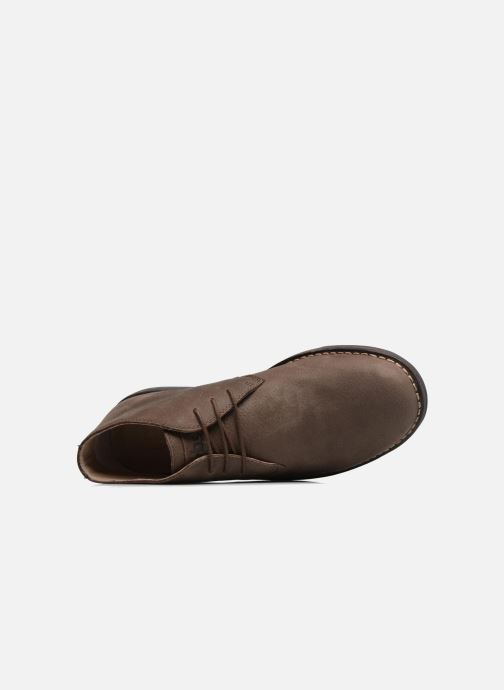Chaussures à lacets TBS Kerlea Marron vue gauche