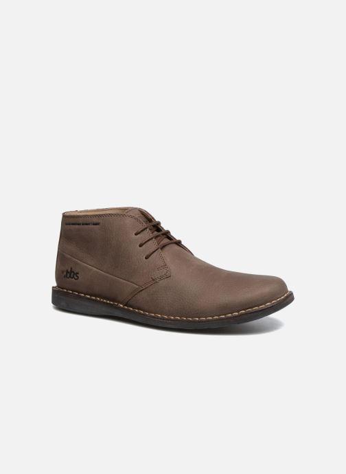 Chaussures à lacets TBS Kerlea Marron vue détail/paire