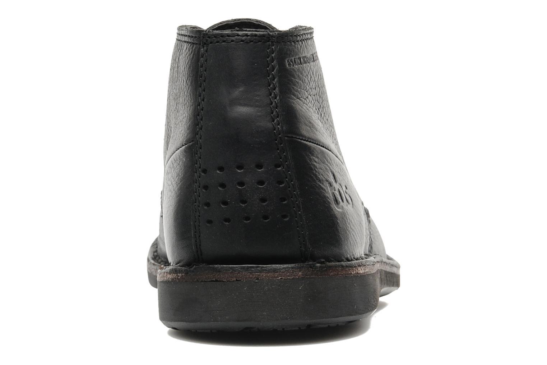 Chaussures à lacets TBS Kerlea Noir vue droite