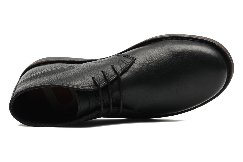 Chaussures à lacets TBS Kerlea Noir vue gauche