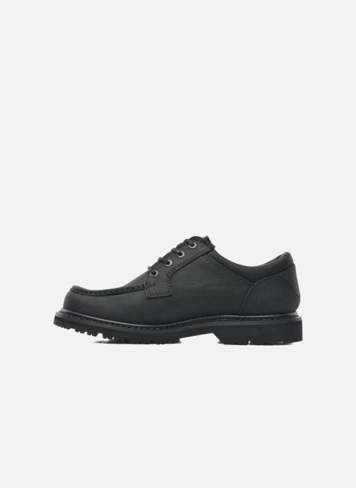 Chaussures à lacets TBS Sannio Noir vue face