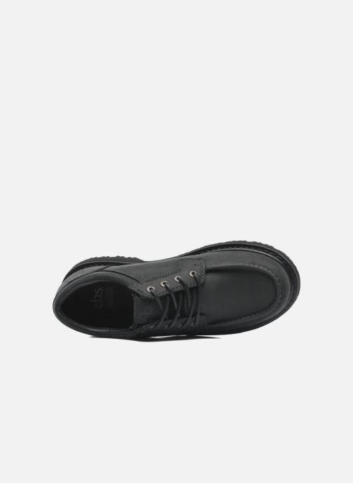 Chaussures à lacets TBS Sannio Noir vue gauche