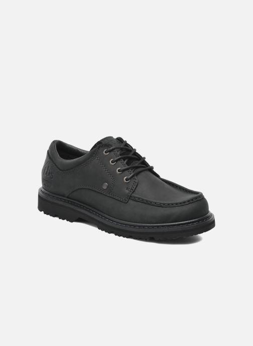 Chaussures à lacets TBS Sannio Noir vue détail/paire