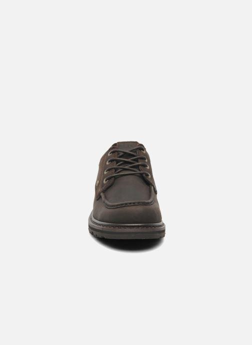 Zapatos con cordones TBS Sannio Marrón vista del modelo