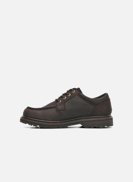 Zapatos con cordones TBS Sannio Marrón vista de frente