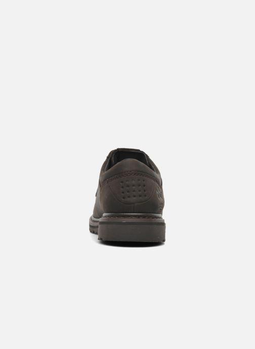 Zapatos con cordones TBS Sannio Marrón vista lateral derecha