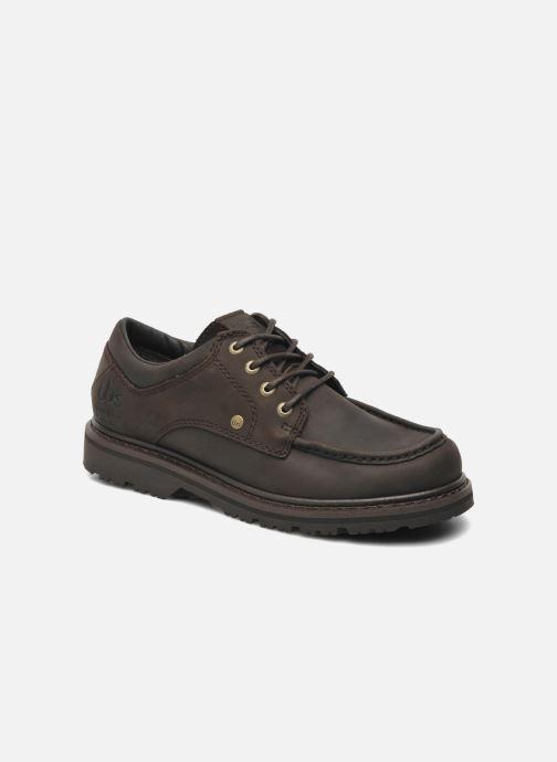 Zapatos con cordones TBS Sannio Marrón vista de detalle / par