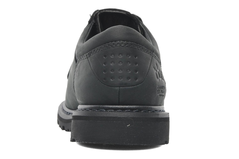 Chaussures à lacets TBS Sannio Noir vue droite