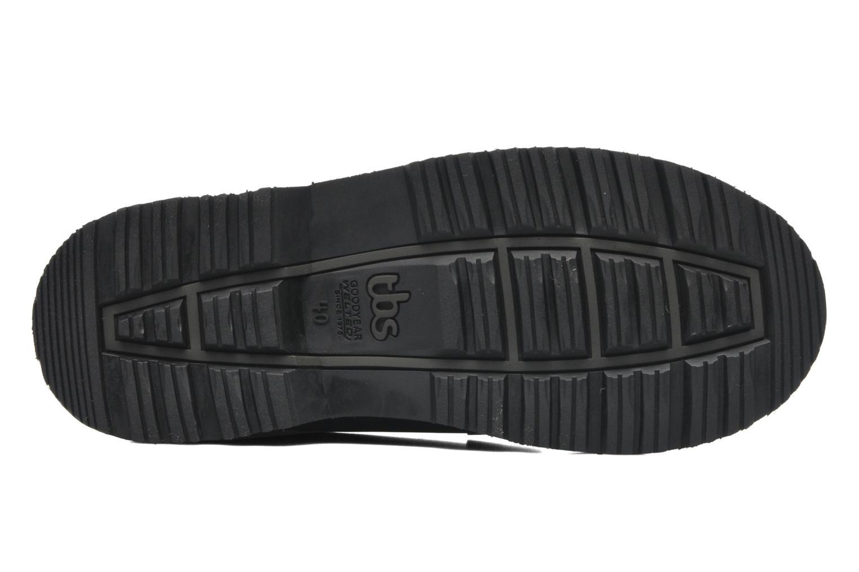 Chaussures à lacets TBS Sannio Noir vue haut