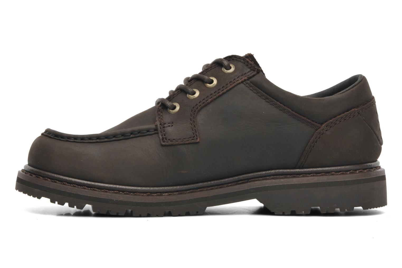 Chaussures à lacets TBS Sannio Marron vue face