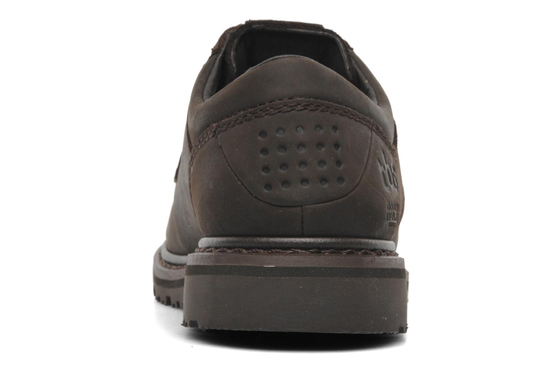 Chaussures à lacets TBS Sannio Marron vue droite