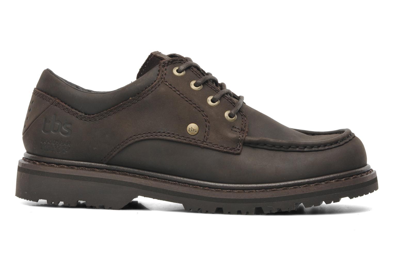 Chaussures à lacets TBS Sannio Marron vue derrière