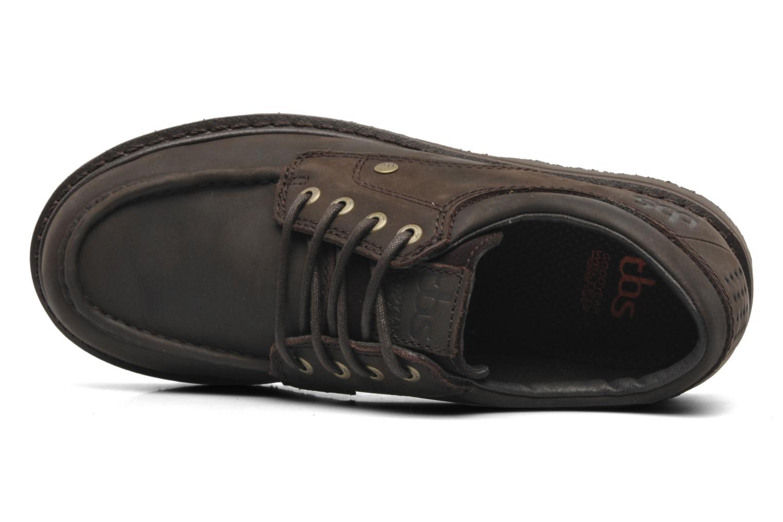 Chaussures à lacets TBS Sannio Marron vue gauche