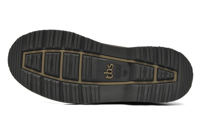 Chaussures à lacets TBS Sannio Marron vue haut