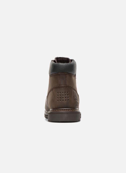Ankle boots TBS Sefano Brown view from the right