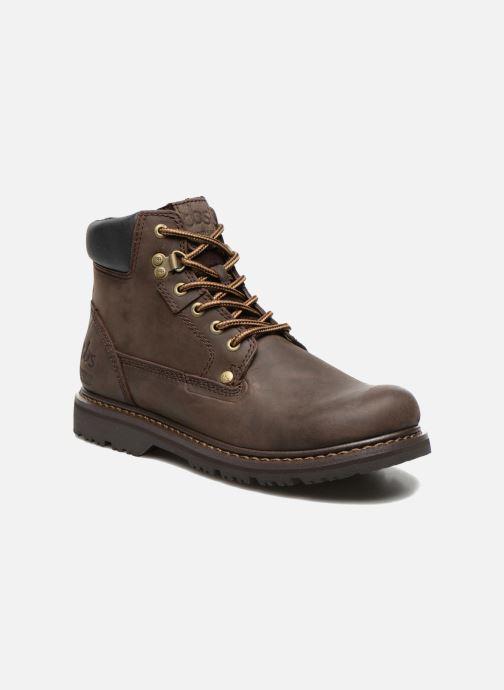 Boots en enkellaarsjes TBS Sefano Bruin detail