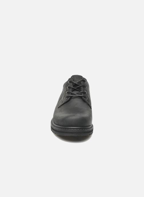 Zapatos con cordones TBS Stuart Negro vista del modelo