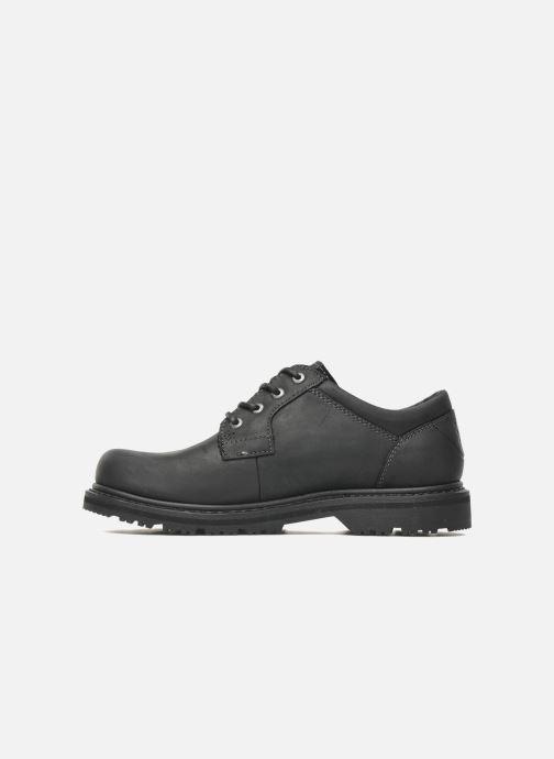 Zapatos con cordones TBS Stuart Negro vista de frente