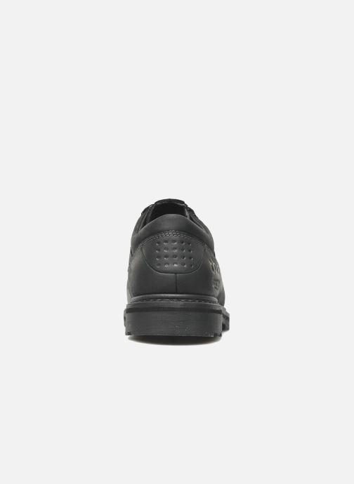 Zapatos con cordones TBS Stuart Negro vista lateral derecha
