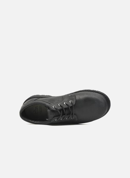 Zapatos con cordones TBS Stuart Negro vista lateral izquierda