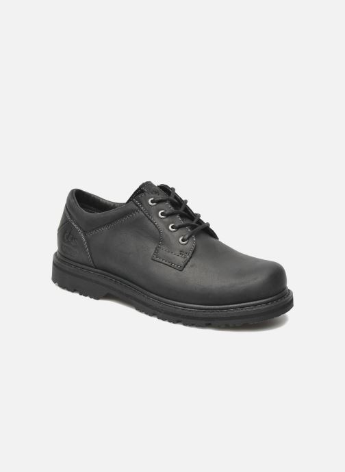 Lace-up shoes TBS Stuart Black detailed view/ Pair view