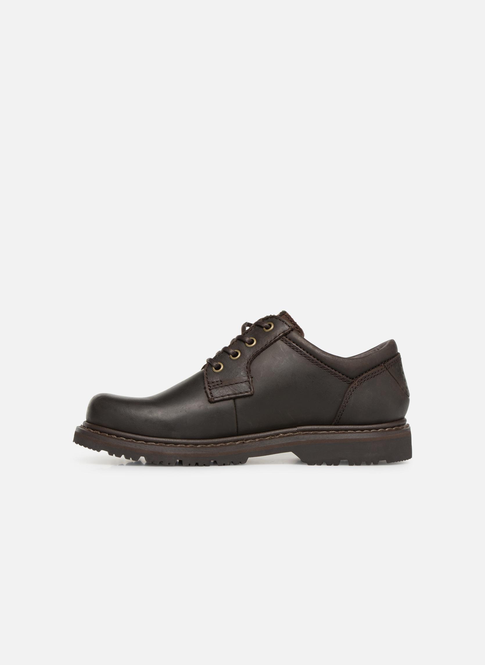 Chaussures à lacets TBS Stuart Marron vue face