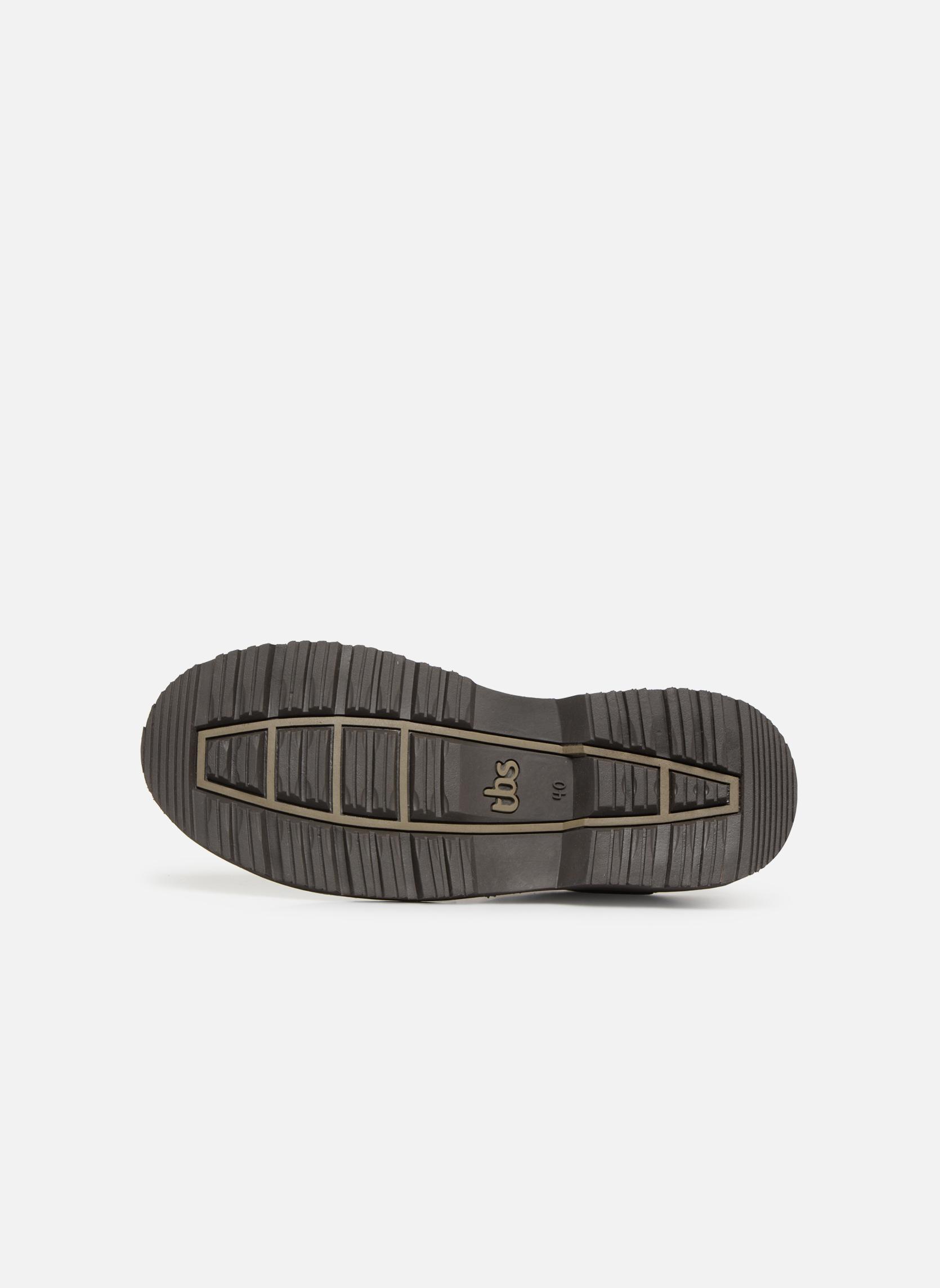 Chaussures à lacets TBS Stuart Marron vue haut
